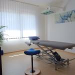 Behandlungsraum Blau