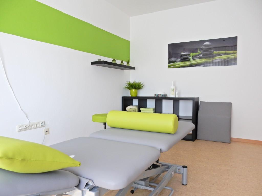 Behandlungsraum Grün